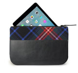 Braveheart Tartan Leather iPad Case Open View