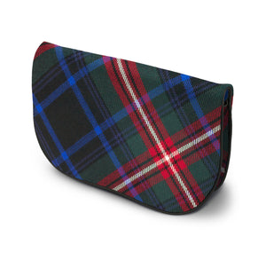 Braveheart Tartan Suede Clutch Bag Side View