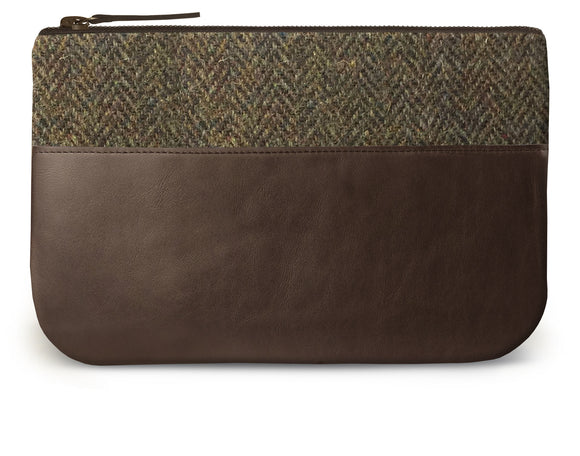 Brown Harris Tweed Leather iPad Case Feature Image