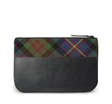 Cameron Tartan Leather iPad Case Back View