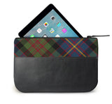 Cameron Tartan Leather iPad Case Open View