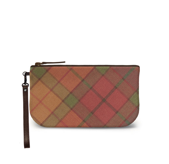 Cullins of Skye Tartan Plaid Small Clutch Front View