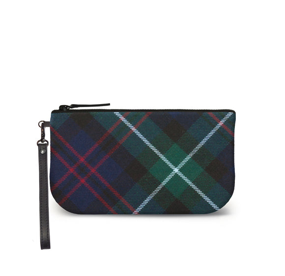 Heritage Tartan Plaid Small Clutch Front View