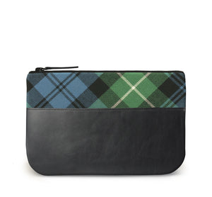 Lamont Tartan Leather iPad Case Front View