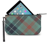 Loch Ness Tartan Wristlet Clutch Open View