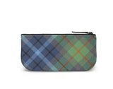 New York City Tartan Mini Clutch Back View