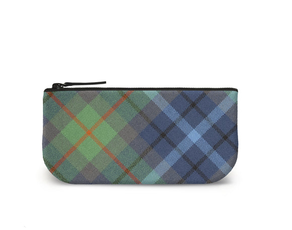New York City Tartan Mini Clutch Front View
