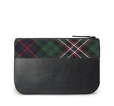 Scotlands National Tartan Leather iPad Case Back View