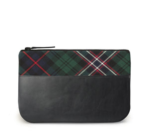 Scotlands National Tartan Leather iPad Case Front View