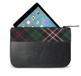 Scotlands National Tartan Leather iPad Case Open View