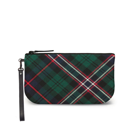 Scotlands National Tartan Plaid Small Clutch Front View