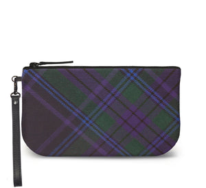 Spirit of Scotland Tartan Wristlet Clutch Front View