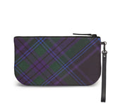 Spirit of Scotland Tartan Wristlet Clutch Back View