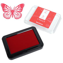 Load image into Gallery viewer, Iromoyo Ink Pad // Beni-iro (Red)