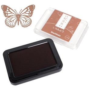 Iromoyo Ink Pad // Hiwada-iro (Light Brown)