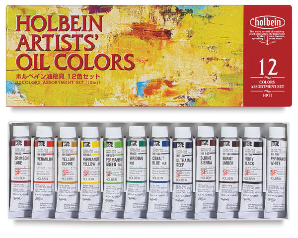 Holbein Artists' Oil Set (12)