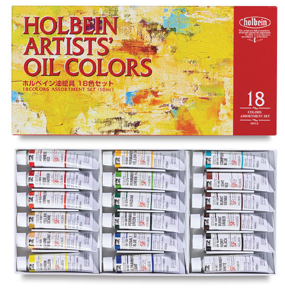 Holbein Artists' Oil Set (18)