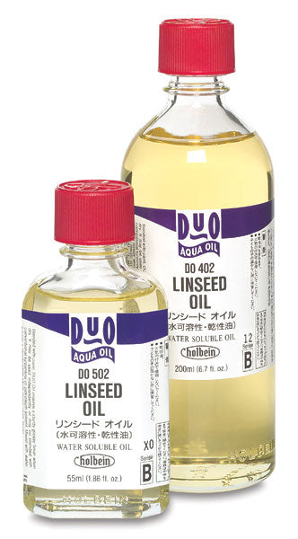 Holbein DUO Linseed Oil // 55ml