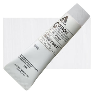 Holbein Acryla Gouache 20ml Tube // Primary White