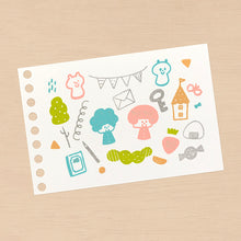 Load image into Gallery viewer, mizutama Clear Stamp: Fun Mix