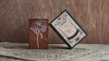 Load image into Gallery viewer, Jieyanow Atelier - Garden of Inspiration Rubber Stamp // Peony