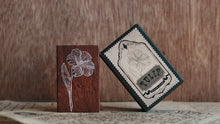 Load image into Gallery viewer, Jieyanow Atelier - Garden of Inspiration Rubber Stamp // Tulip