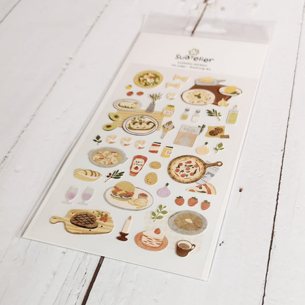 Suatelier Stickers | Food Trip #1