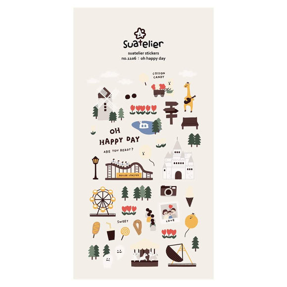 Suatelier Stickers | Oh Happy Day