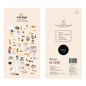 Suatelier Stickers | Cooking