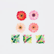 Load image into Gallery viewer, Bande Pink Gerbera Washi Tape