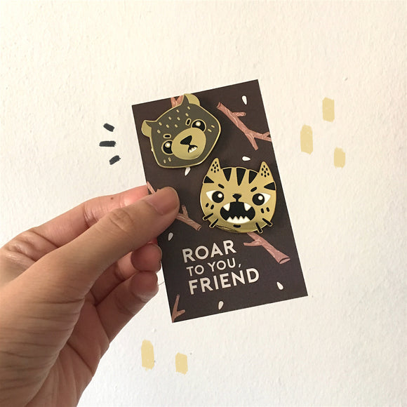 Enamel Pin : Bear
