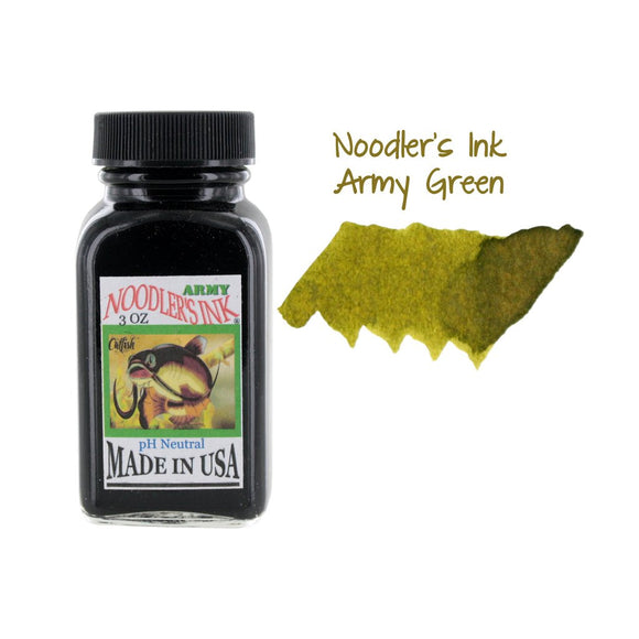 Noodler's Fountain Pen Ink // Army Green