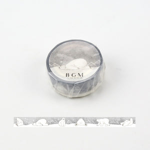 BGM Masking Tape | Polar Bear