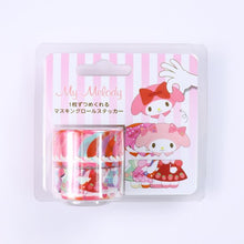 Load image into Gallery viewer, Bande Washi Sticker Roll // My Melody