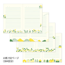 Load image into Gallery viewer, MIDORI Journal with Embroidery Bookmark // Bird