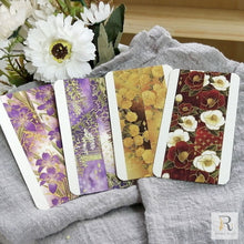Load image into Gallery viewer, Reimy Gold Foil Washi Tape / Flower Bundle