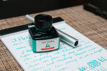 Load image into Gallery viewer, J.Herbin Fountain Pen Ink 30ml - Vert Réséda (Green Mignonette)
