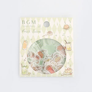 BGM Flake Stickers | Summer Drinks