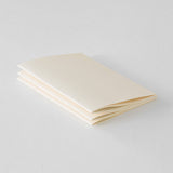 MD Notebook Light A5 Blank (English Caption) / 3 pcs