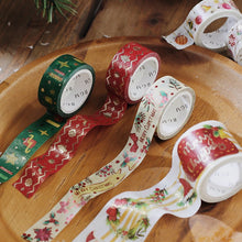 Load image into Gallery viewer, BGM Christmas Limited Foiled Masking Tape | Santa Claus