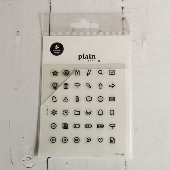 Suatelier Plain 26 Sticker Sheet