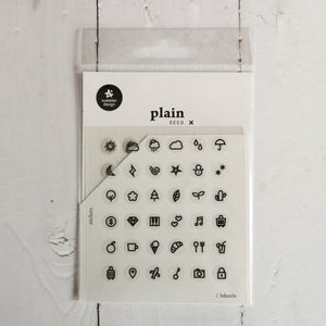 Suatelier Plain 27 Sticker Sheet