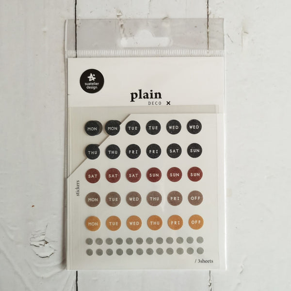 Suatelier Plain 28 Sticker Sheet