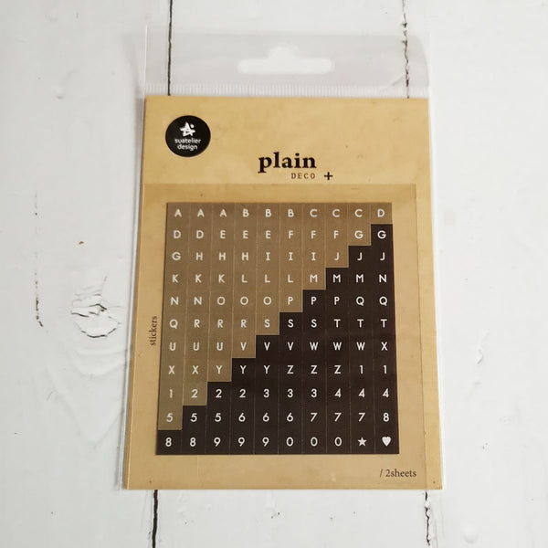 Suatelier Plain 29 Sticker Sheet