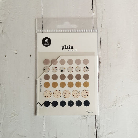 Suatelier Plain 32 Sticker Sheet
