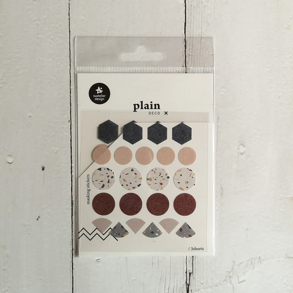 Suatelier Plain 33 Sticker Sheet