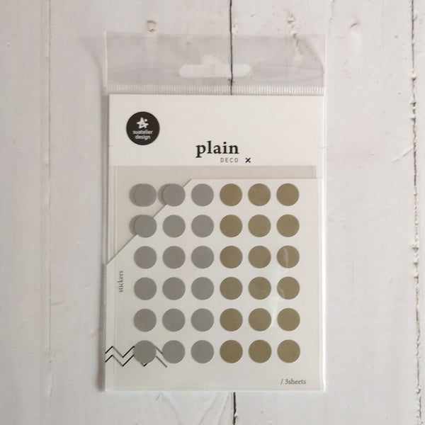 Suatelier Plain 37 Sticker Sheet