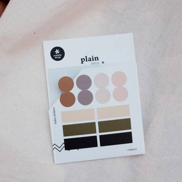 Suatelier Plain 43 Sticker Sheet