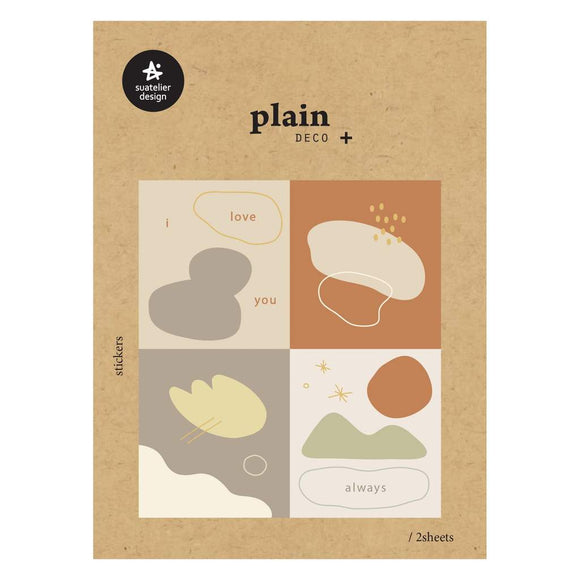 Suatelier Plain 49 Sticker Sheet