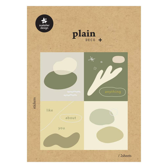Suatelier Plain 50 Sticker Sheet
